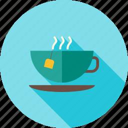 coffee, cup, drink, green tea, hot, hot drink, tea icon