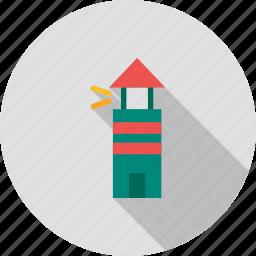 beach, building, light, light house, navigation, tall, tower icon
