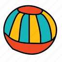activity, ball, beach, play, sport, summer icon