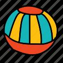 activity, ball, beach, play, sport, summer icon