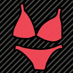 beach, bikini, clothes, outfit, pool, summer icon