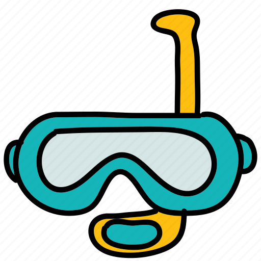 diving, mask, snorkeling, snorkle, summer icon