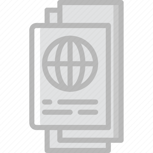 documents, holiday, summer, vacation icon