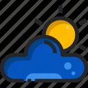 weather, sun, cloud, sky, sunny, meteorology, cloudy