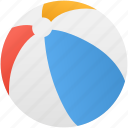 ball, beach, holiday, summer icon