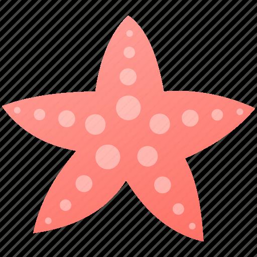 holiday, sea, star, summer icon