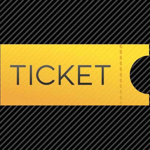 holiday, movie, summer, ticket, travel icon