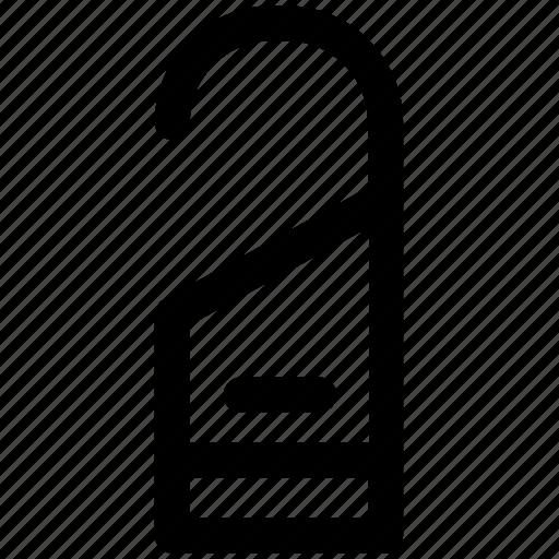 .svg, do not disturb, door hanger, door label, doorknob sign, doorknob tags icon
