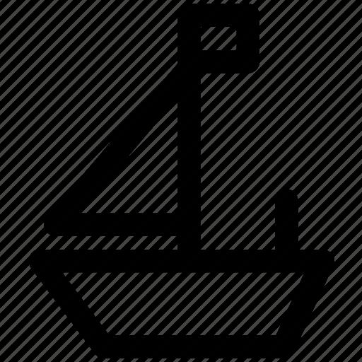 .svg, boat, sail, sailor, ship, shipping, trip icon