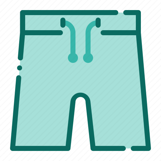 beach, fashion, holiday, short pant, summer, swimwear, vacation icon