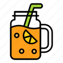 beverage, drinks, fresh, holiday, juice, summer icon