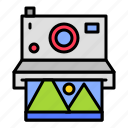 camera, film, holiday, instant camera, picture, summer icon