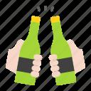 beer, bottle, cheers, drinks, holiday, summer