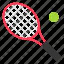 holiday, racket, sport, summer, tennis icon