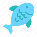 animal, beach, fish, holiday, seafood, summer, vacation icon