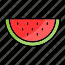 watermelon, melon, summer, cool, fruit, summertime, food