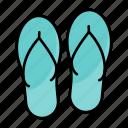 flip, flops, summer, slipper, fashion, sandals, footware