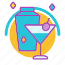 bar, cocktail, drink, drinks, night time, restaurant, time out icon