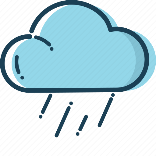 cloud, holiday, rain icon, summer, summer icon, travel, weather icon icon