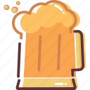 beer, fresh, holiday, summer, summer drink icon, travel icon