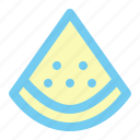 cooking, food, fruit, red, vegetable, water melon icon