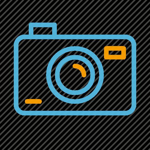 camera, summer icon