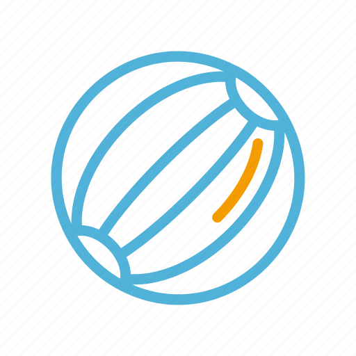 ball, summer icon