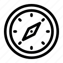 adventure, compass, directive, guidance, navigate icon