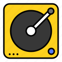cd player, music, party, sound, summer icon