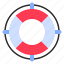 lifebuoy, lifering, party, safety, summer icon