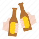beer, beverage, cheers, drinks, party, summer icon