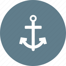 anchor, boating, hold, marine, ocean, ship, steady icon