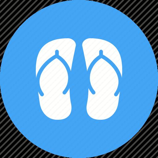 beach, feet, footwear, sandals, shoes, summer, walk icon
