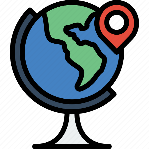 holiday, location, summer, vacation, world icon
