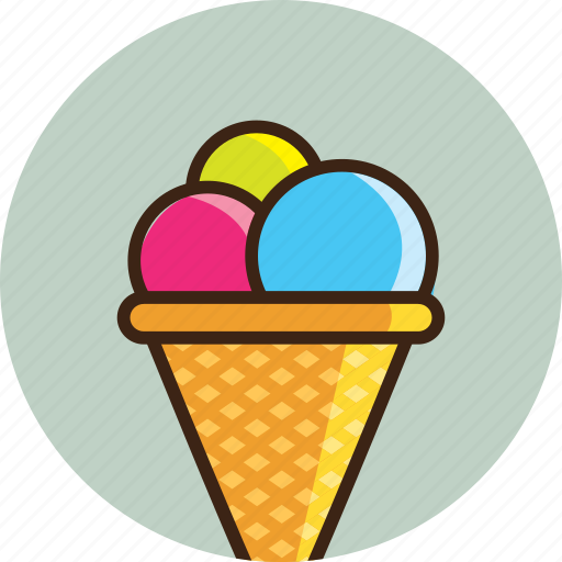 cream, ice, icecream, kids, summer, sweet, travel icon