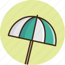 beach, guardar, protect, save, summer, sun, travel, umbrella icon