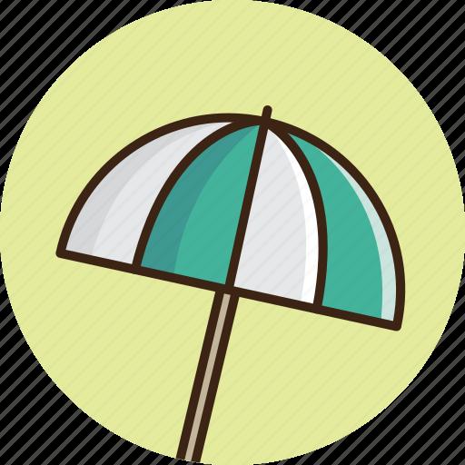 beach, guardar, protect, save, summer, sun, travel, umbrella icon