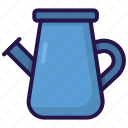 cultivate, garden, watering, watering pot icon
