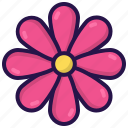 flora, flower, nature, plant, spring icon