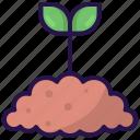 garden, grow, plant, sapling, seddling icon