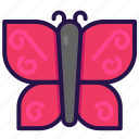 animal, bug, butterfly, insect icon