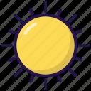 rise, summer, sun, sunrise icon