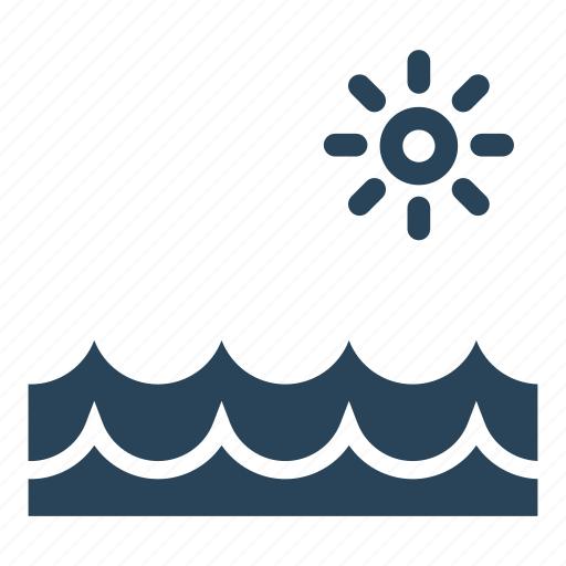 sea wave, sea waves, summer, summer time, sun, water icon