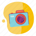 camera, photo, summer, travel icon