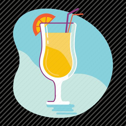 beach, cocktail, drink, summer icon