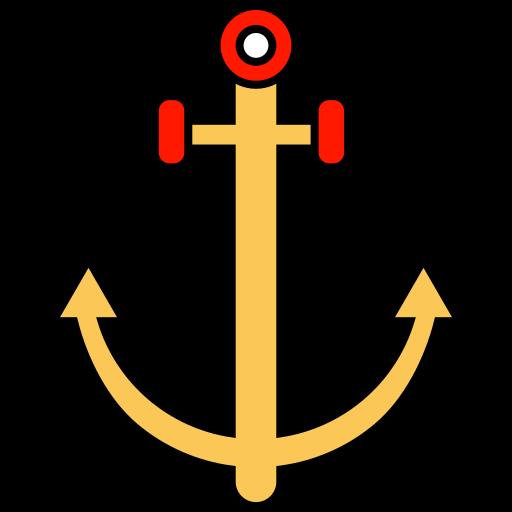 anchor, seo, settings, smartphone icon