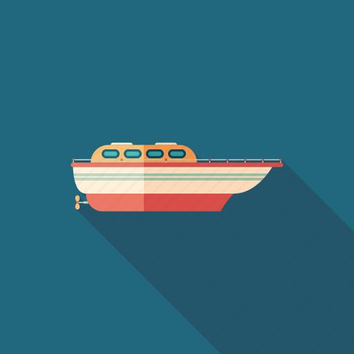 boat, catamaran, cutter, motorboat, sea, ship, yacht icon