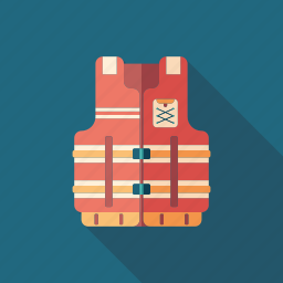 help, jacket, life, safety, saver, survive, vest icon