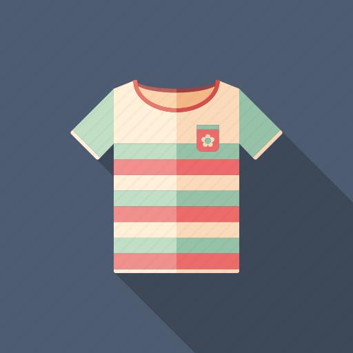 beach, sea, shirt, summer, t-shirt, travel, wear icon