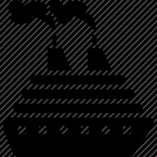 boat, cruise, ferry, sea, ship, transport, travel icon